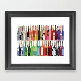 Lisa Wine Framed Art Print