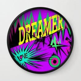Keep Calm and Dream | Sweet Dreams my Love Wall Clock