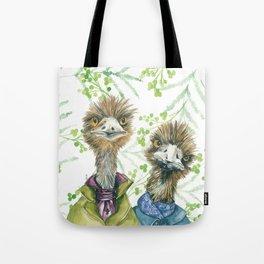 Edgar and Erwin Emu Tote Bag