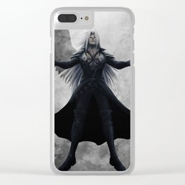 Sephiroth - One Winged Angel Clear iPhone Case