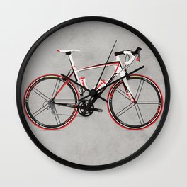 Race Bike Wall Clock