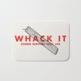 Whack it - Zombie Survival Tools Bath Mat