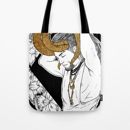[Caelum Florescens] Aries Tote Bag