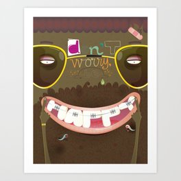 don't worry, be happy Art Print