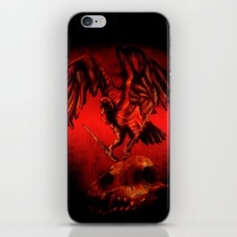 SWITCHBLADE VULTURE iPhone Skin