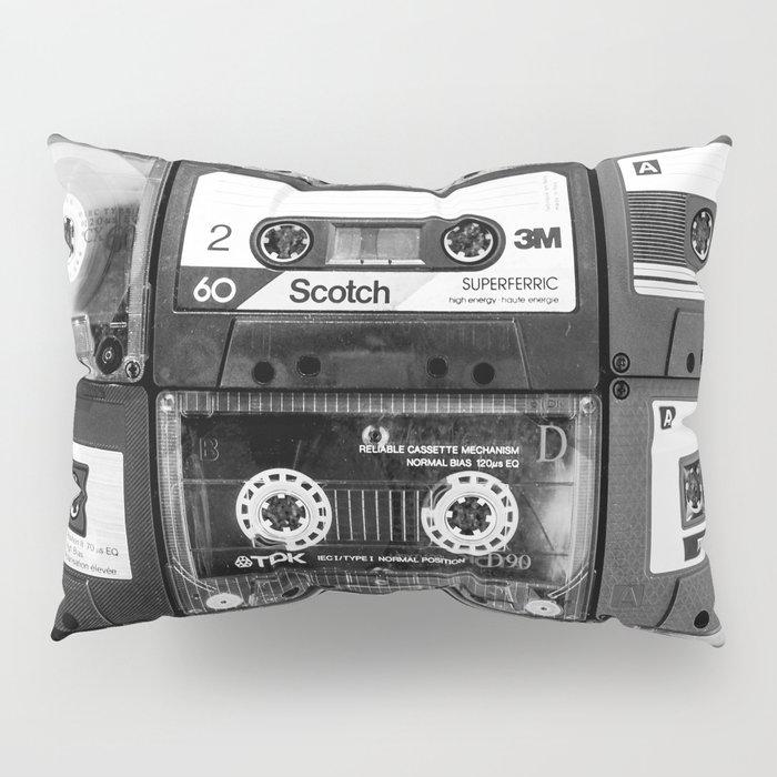 Something Nostalgic - black and white #decor #buyart #society6 Pillow Sham