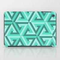 lv iPad Cases featuring Geometrix LV by Harvey Warwick
