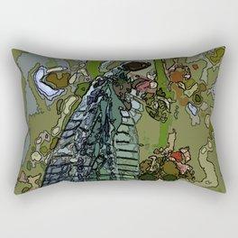 Damsel Fly Rectangular Pillow