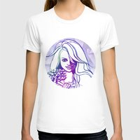 outer space T-shirts featuring Outer space by Lindella