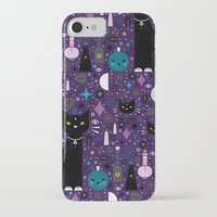 kittens iPhone & iPod Cases featuring Halloween Kittens  by Carly Watts