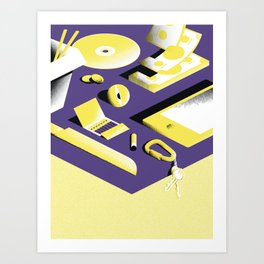 Chillin - 2 Art Print