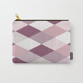 Rose, Purple, Neutral Geometry IIB Carry-All Pouch
