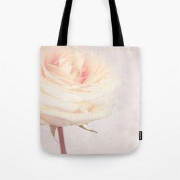 GRAZIE - White Wedding Rose Tote Bag