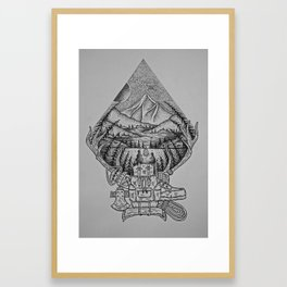 Imaginary Land Framed Art Print