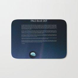 Pale Blue Dot — Voyager 1 (2020 revision) Bath Mat