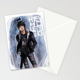 Punk Ghost King Stationery Cards