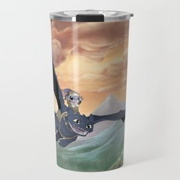 How to Train Your Stitch: Flying Lessons with Toothless Travel Mug