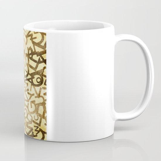 Din pattern Mug