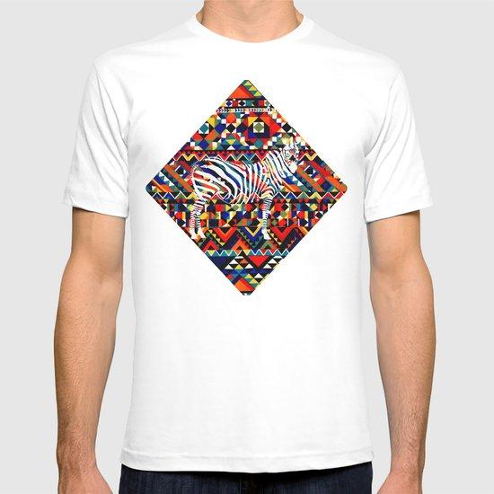Tribal Zebra T-shirt