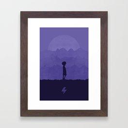Killua Framed Art Print