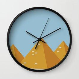 piramidi Wall Clock