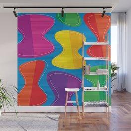 Lava Shapes Wall Mural