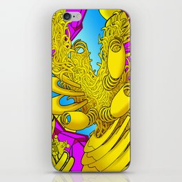 AUTOMATIC WORM 2 iPhone Skin