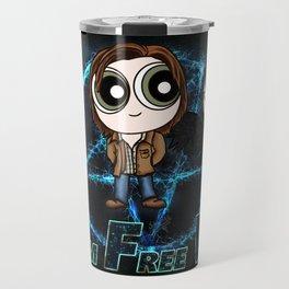 Team Free Will for life Travel Mug