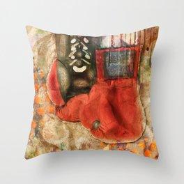Boxing Modern Throw Pillow
