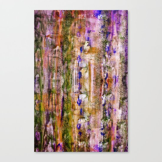 floating / purple Canvas Print