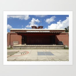 Outdoor Stage Art Print