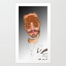 Hallo Gallo Art Print