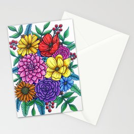 Floral Unity Stationery Cards