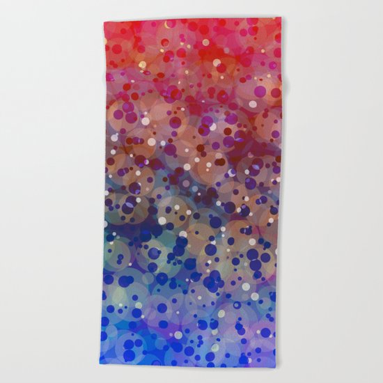 Supernova 4 Beach Towel