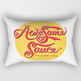 Awesome Sauce (gold) Rectangular Pillow