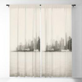 New York skyline Blackout Curtain