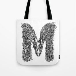 The Illustrated M Tote Bag
