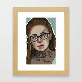 Cosima Niehaus Illustration Framed Art Print