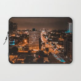 Biscayne Night View Laptop Sleeve