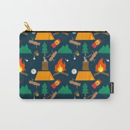 Let's Explore The Great Outdoors - Dark Blue Carry-All Pouch