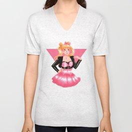 Sailor Moon 80s Style Unisex V-Neck