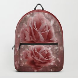 Vintage Dusty Rose Backpack