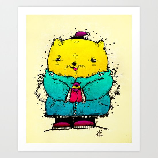 Hugs Art Print