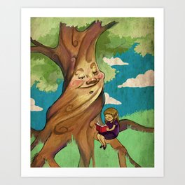 Mother Tree Art Print