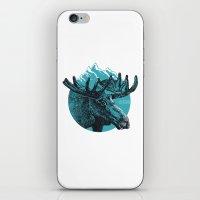 alaska iPhone & iPod Skins featuring Alaska by Krikoui