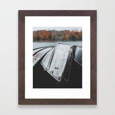 Rustic Boats Framed Art Print
