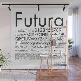 Futura (Black) Wall Mural
