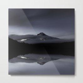 Trillium Lake Reflection Metal Print