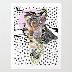 Sweetly Lavender Art Print
