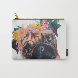 Popped Pug #3 Carry-All Pouch